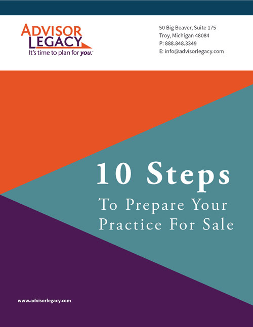 10 Steps to Prepare for Selling a Practice